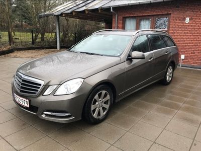 brugt Mercedes E220 2,1 CDI BlueEfficiency 170HK Stc 7g Aut.