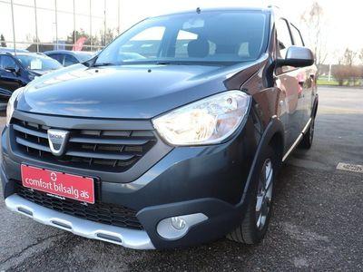 brugt Dacia Lodgy Stepway 1,5 dCi 90 Prestige 7prs