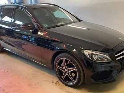 brugt Mercedes C220 2.2 170 HK AMG line