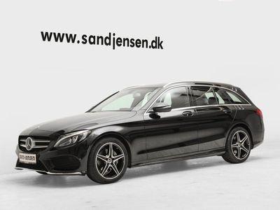 käytetty Mercedes C220 d 2,2 AMG Line stc. aut.