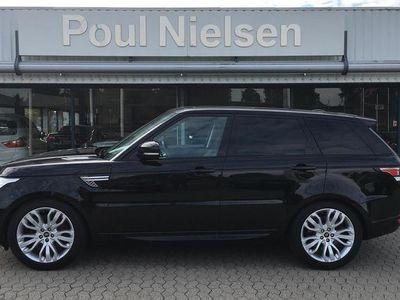 brugt Land Rover Range Rover Sport 3,0 SD V6 HSE 4×4 292HK Van 8g Aut.