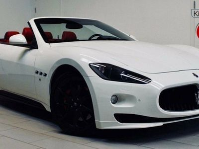 brugt Maserati GranCabrio 4,7 Sport Automatic