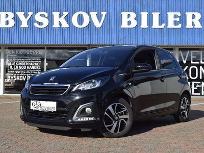 brugt Peugeot 108 1,0 e-VTi 69 Black Edition