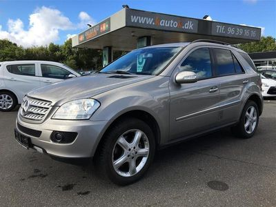 brugt Mercedes ML320 d 3,0 CDI 4x4 224HK Van 7g Aut.