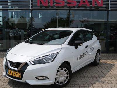 brugt Nissan Micra 1,5 DCi Visia 90HK 5d