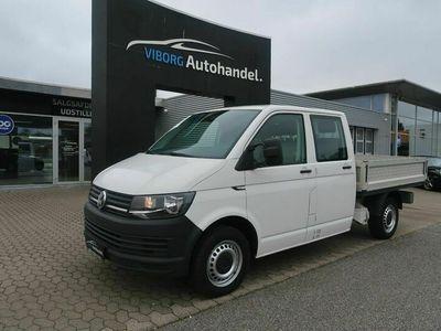 brugt VW Transporter 2,0 TDi 102 Db.Kab m/lad