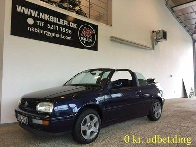 brugt VW Golf Cabriolet III 1,8 90 Bon Jovi