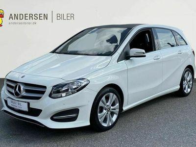 brugt Mercedes B200 1,6 7G-DCT 156HK 7g Aut.