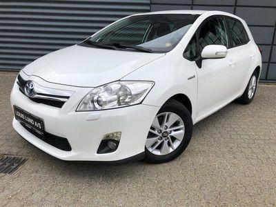 brugt Toyota Auris Hybrid 1,8 B/EL 136HK 5d Aut.