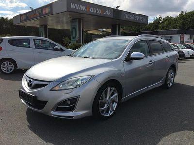 brugt Mazda 6 2,2 DE Advance 129HK 5d 6g