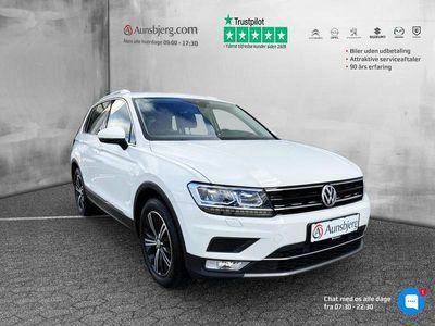 brugt VW Tiguan 2,0 TDI BMT SCR Highline DSG 150HK 5d 7g Aut.