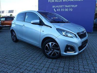 brugt Peugeot 108 1,0 e-Vti Griffe 69HK 5d