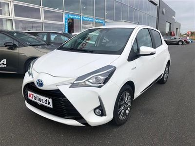 brugt Toyota Yaris Hybrid 1,5 B/EL Exclusive Safety Sense E-CVT 100HK 5d