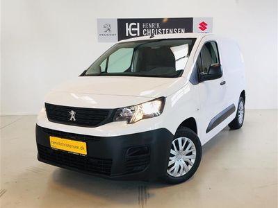 brugt Peugeot Partner L1 V1 1,5 BlueHDi ZAP PRO 100HK Van