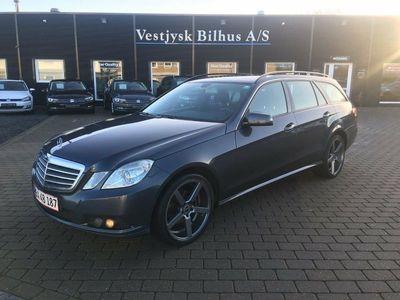 gebraucht Mercedes E200 2 CDi Elegance stc. aut. BE