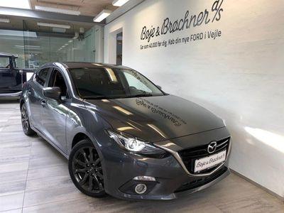 gebraucht Mazda 3 2,2 Skyactiv-D Optimum 150HK 5d 6g Aut.
