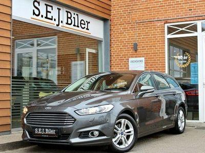 brugt Ford Mondeo 2,0 TDCi Titanium stc. 150HK st.car aut