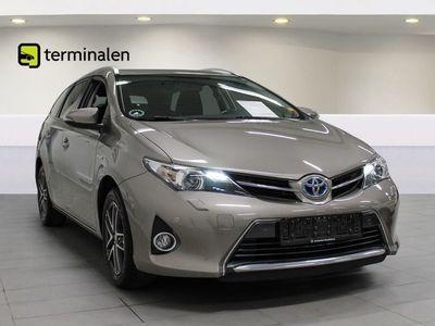 brugt Toyota Auris Hybrid 1,8 Hybrid Premium TS CVT