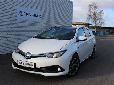 brugt Toyota Auris Touring Sports 1,8 B/EL Pure Safety Sense 136HK Stc Aut.