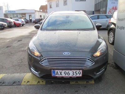 brugt Ford Focus 1,5 TDCi 120 Titanium st.car