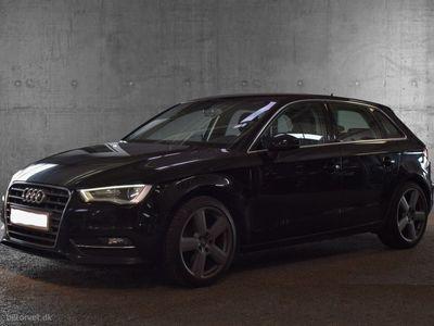 usado Audi A3 Sportback 2,0 TDI Ambition 150HK Stc 6g