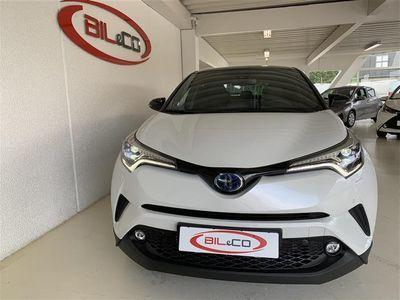 brugt Toyota C-HR 1.8 Hybrid C-LUB - Premiumpakke Alacantara Bitone