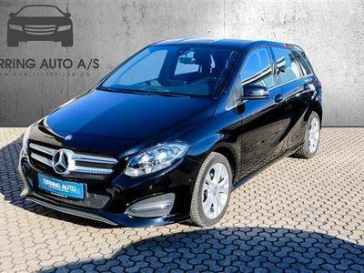 used Mercedes B180 1,5 CDI 109HK 6g - Personbil - sort
