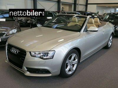 brugt Audi A5 Cabriolet 1,8 TFSi 177 Multitr.