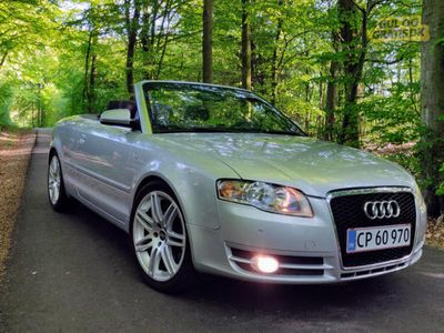 brugt Audi A4 Cabriolet 3,2 Multitronic
