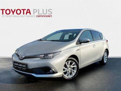 brugt Toyota Auris Hybrid 1,8 B/EL Comfort Skyview 136HK 5d Aut. A++