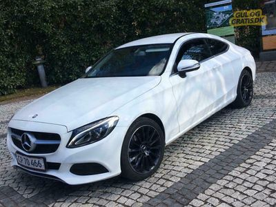 brugt Mercedes C200 automatic coupe