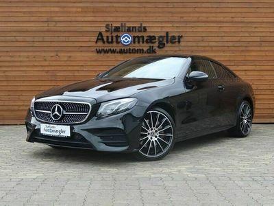 brugt Mercedes E220 2,0 AMG Line Coupé aut.