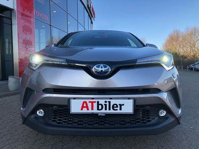brugt Toyota C-HR 1,8 B/EL C-LUB Smart Premium LED Multidrive S 122HK 5d Aut. A++