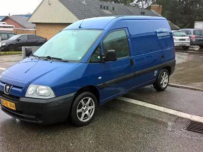brugt Peugeot Expert 2,0 HDI 110HK Van