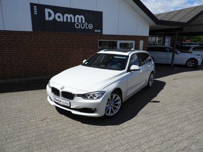 brugt BMW 320 2,0 d Touring Steptronic M Sport 200HK st.car aut