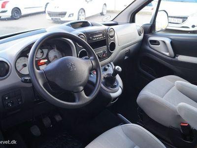 brugt Peugeot Partner 1,6 HDI Tepee Comfort Plus 75HK