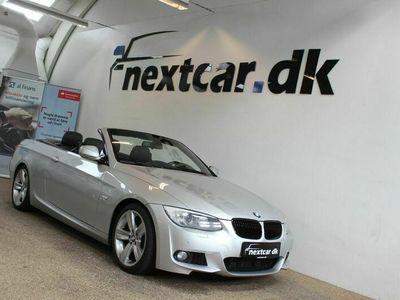 brugt BMW 335 Cabriolet i 3,0 DKG
