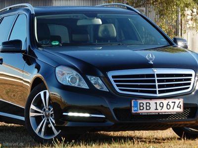 brugt Mercedes E220 2,2 CDI BlueEfficiency 170HK Stc 7g Aut.