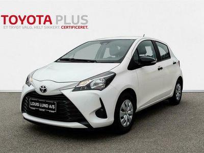 brugt Toyota Yaris 1,0 VVT-I T1 72HK 5d A+