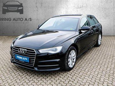 brugt Audi A6 Avant 3,0 TDI S Tronic 218HK Stc 7g Aut. - Personbil - sort