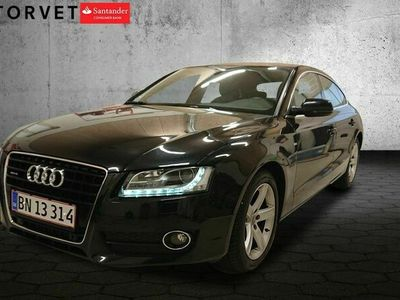 brugt Audi A5 Sportback 3,0 TDi 240 quattro S-tr.