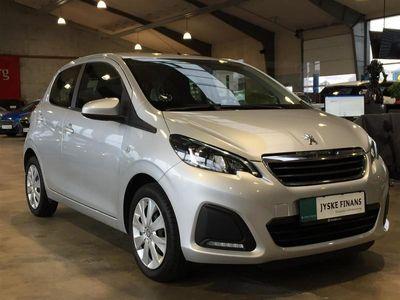brugt Peugeot 108 1,2 VTi Active Top! 82HK 5d