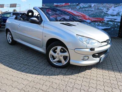 usata Peugeot 206 CC 1,6 Griffe 110HK Cabr.