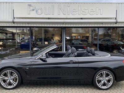 brugt BMW 435 i 3,0 Sport Line 306HK Cabr.
