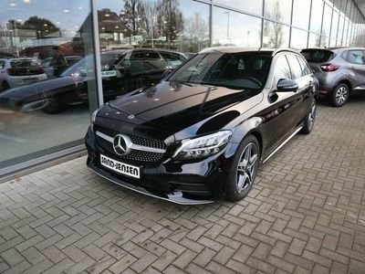 gebraucht Mercedes C220 d 2,0 AMG Line stc. aut.