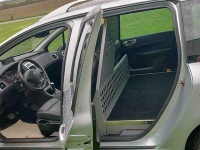 brugt Peugeot 307 2,0 HDI Griffe 136HK Van Aut.
