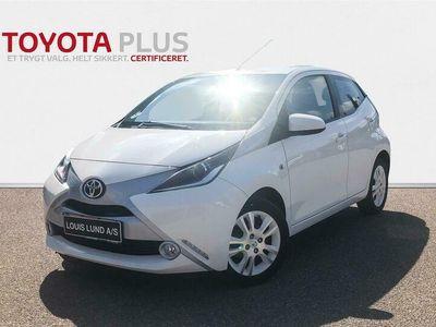 brugt Toyota Aygo 1,0 VVT-I X-Pure 69HK 5d A++