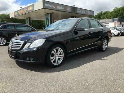 brugt Mercedes E220 2,2 CDI BlueEfficiency D 170HK Aut.
