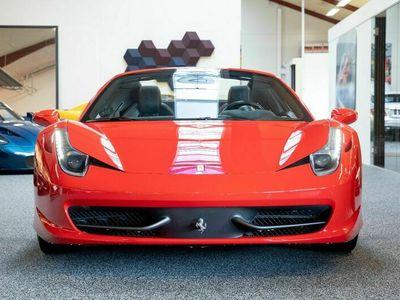 brugt Ferrari 458 4,5 Spider DCT