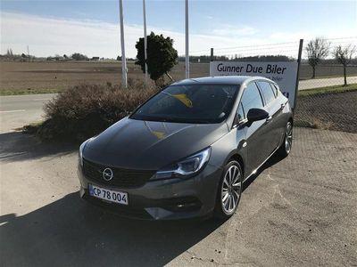 brugt Opel Astra 1,4 Turbo Elegance 145HK 5d Trinl. Gear